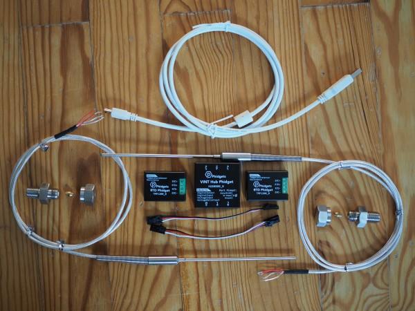Phidgets 2xRTD Set